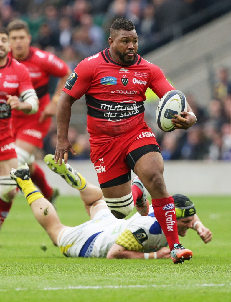 Steffon Armitage of Toulon in action: Who will be in England's rugby world cup line-up?