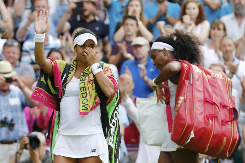 Heather Watson vs Serena Williams: Can an underdog ever win Wimbledon again