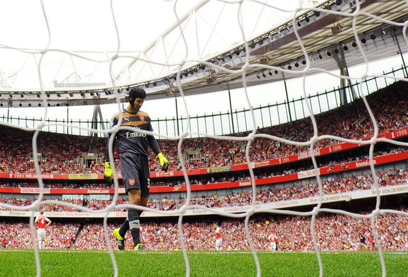Petr Cech's performance was one of the talking points from the start of the Premier League