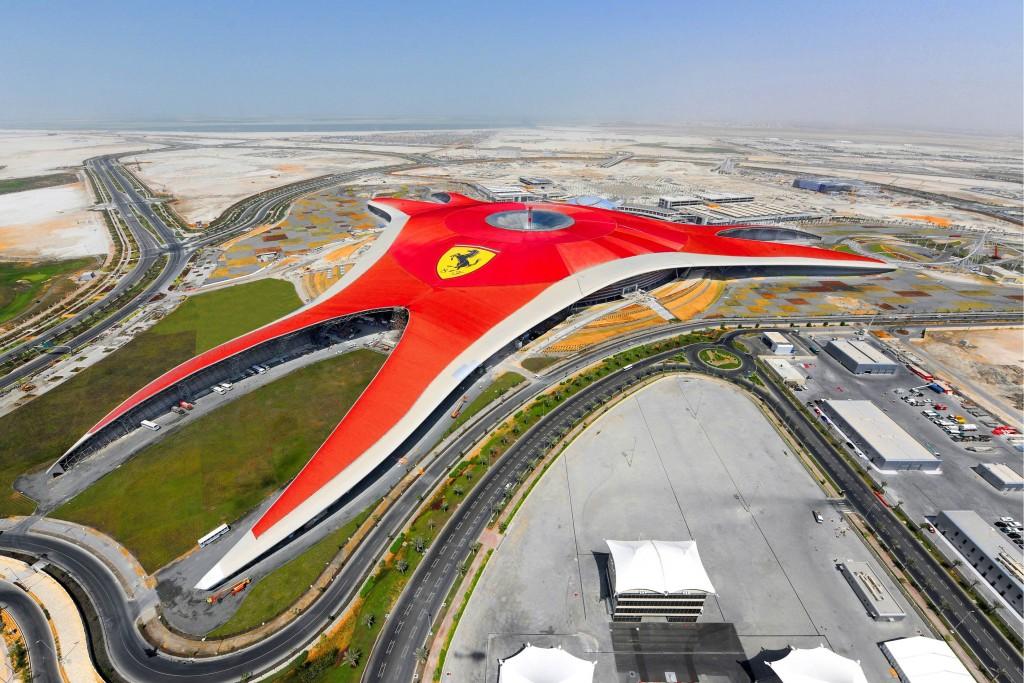 Ferrari World at the Abu Dhabi Grand Prix