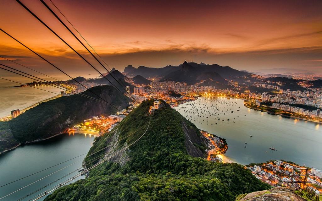 Brazil - Rio sunset