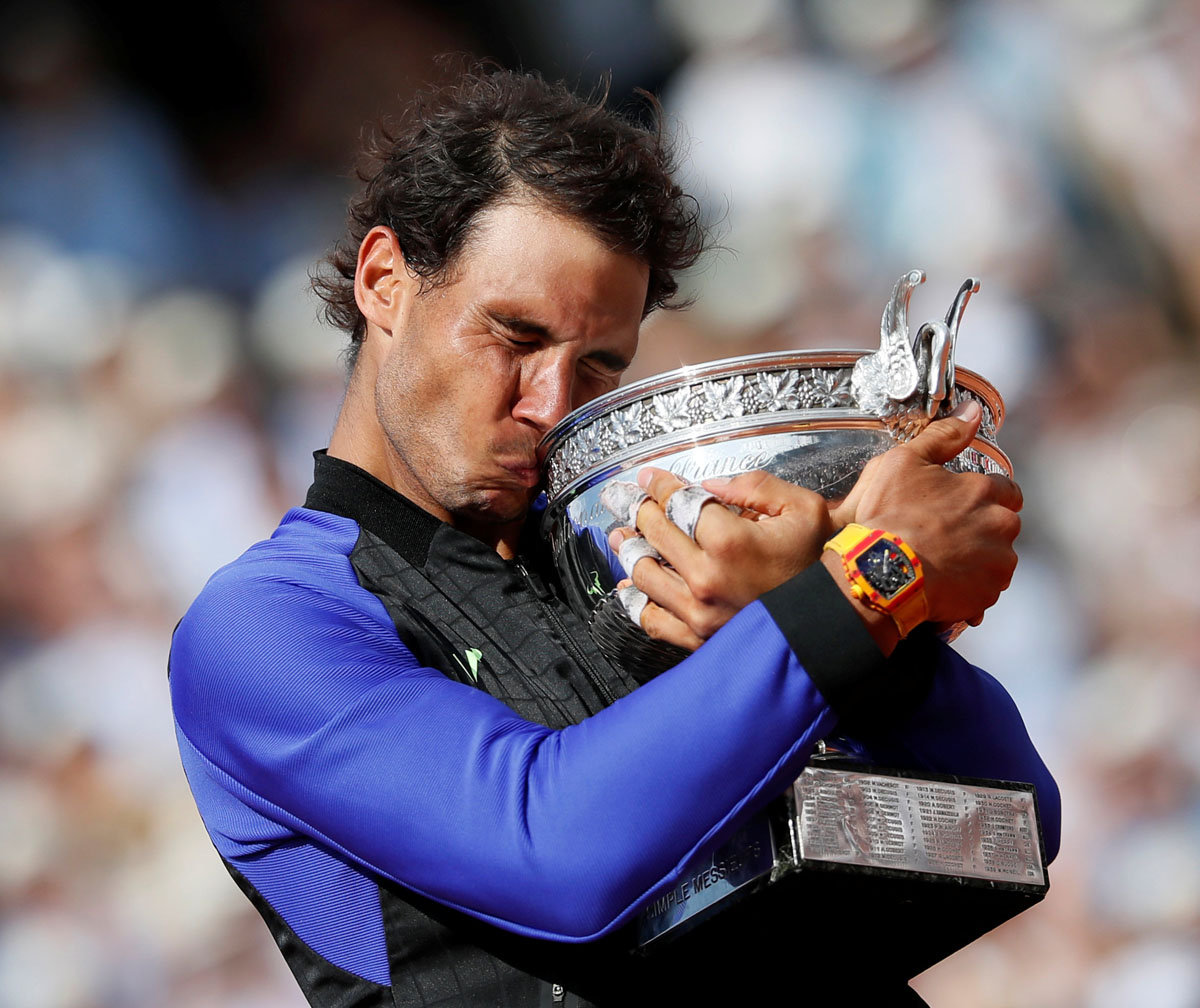 Memorable moments from the French Open