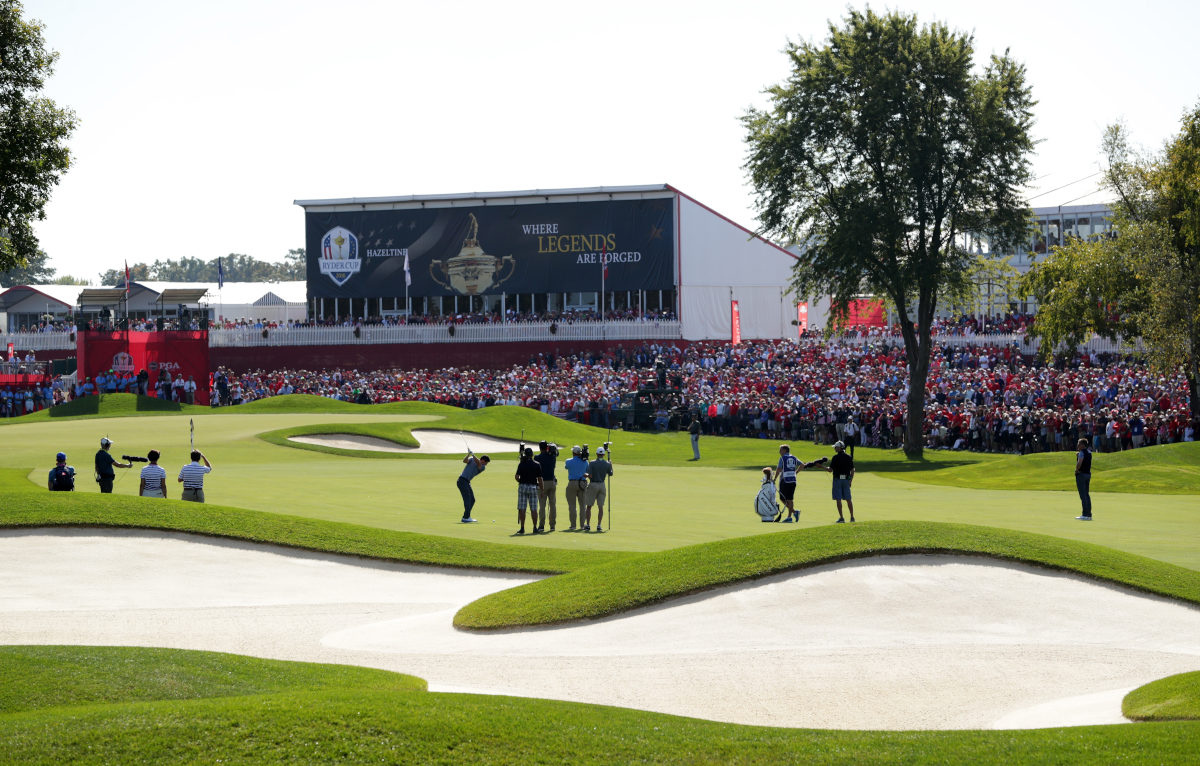 Ryder Cup Venues History