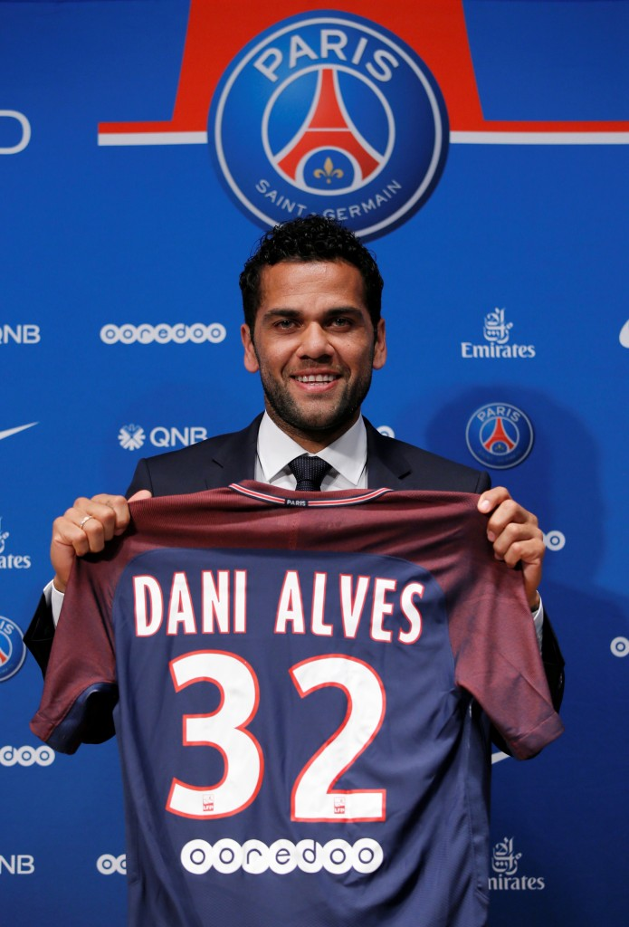 European football transfers - Dani Alves
