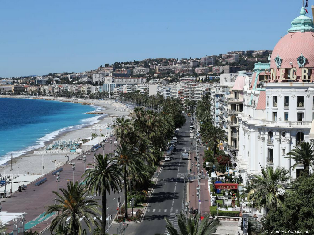 Visit Nice during a weekend of the Monaco Grand Prix 2018