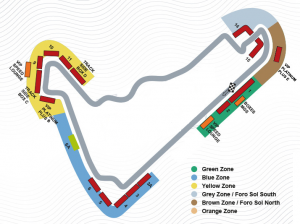 Mexican GP Circuit Map