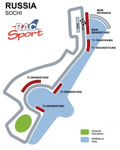 Russian GP Circuit Map