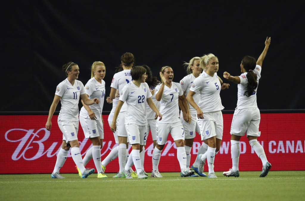 Soccer: Women's World Cup-England at Colombia